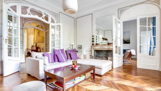 Stanislas Eurieult Architectures : Restructuration haussmannienne d'un lieu de vie familiale