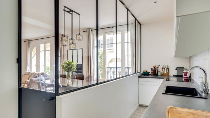 Stanislas Eurieult Architectures : Rénovation d'un appartement de style