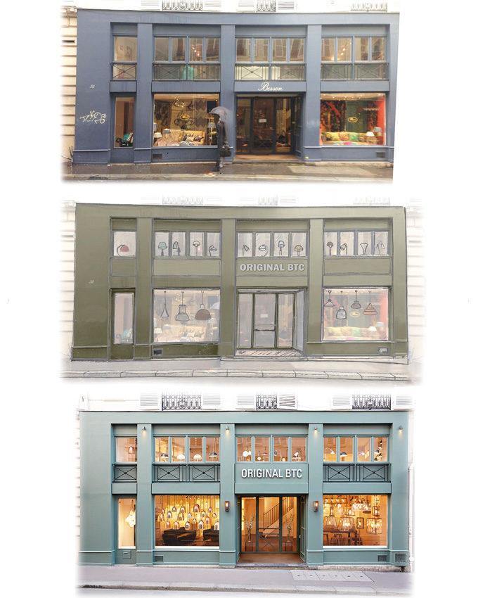 Stanislas Eurieult Architectures Retail : Flagship parisien d'une maison britannique