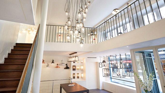 Stanislas Eurieult Architectures : Retail : Flagship parisien d'une maison britannique