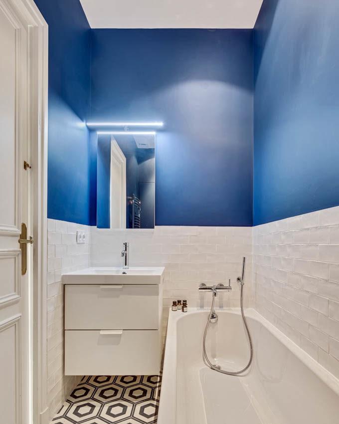Stanislas Eurieult Architectures : Réhabilitation d'un appartement familial en bord de Seine