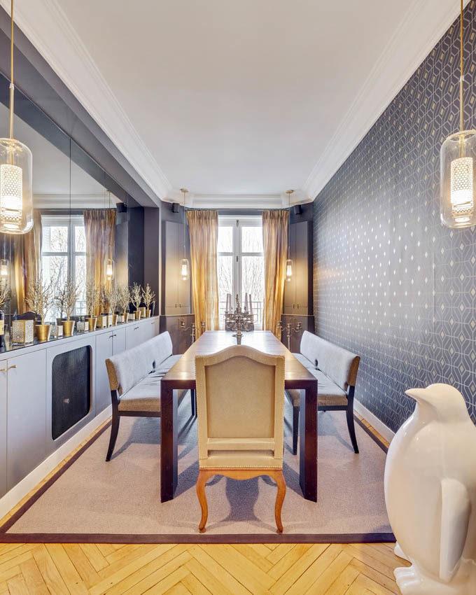 Stanislas Eurieult Architectures Réhabilitation d'un appartement familial en bord de Seine