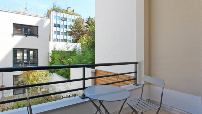 Stanislas Eurieult Architectures : Promotion : Construction d'un immeuble de 9 logements et d'une maison de ville