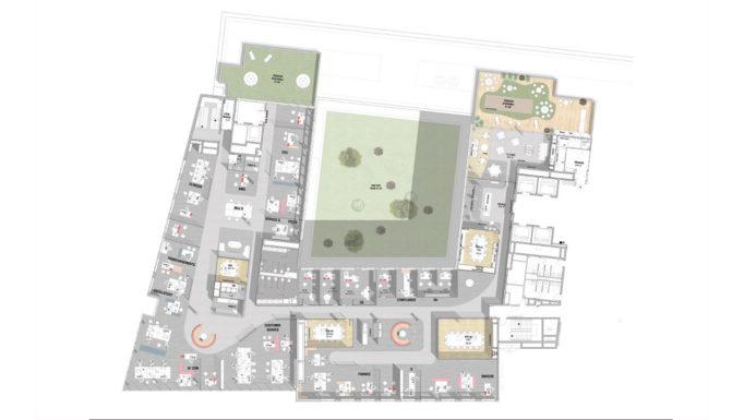 Stanislas Eurieult Architectures : Bureaux : Aménagement d'un siège social et de nouveaux modes de collaboration