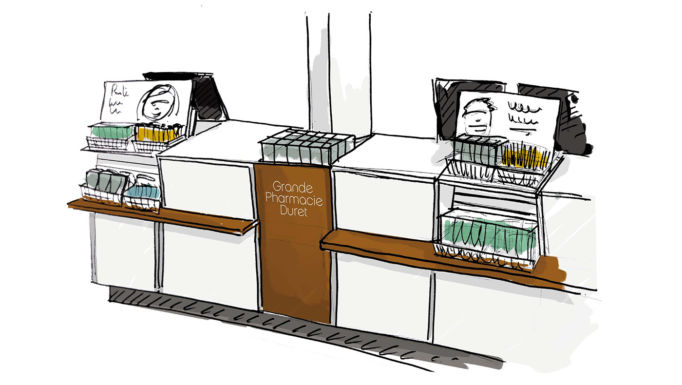 Stanislas Eurieult Architectures : Retail : Grande Pharmacie Duret
