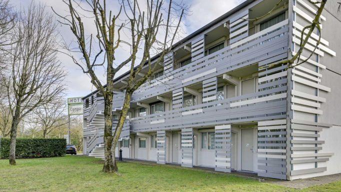 Stanislas Eurieult Architectures : Hôtel : Création d'une vêture de façade
