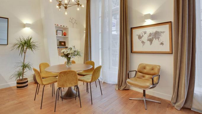 Stanislas Eurieult Architectures : Structuration d'un appartement contemporain