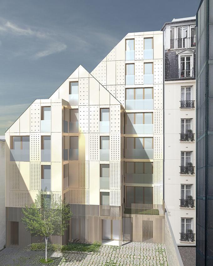Stanislas Eurieult Architectures : Promotion : Construction d'un immeuble de 12 logements