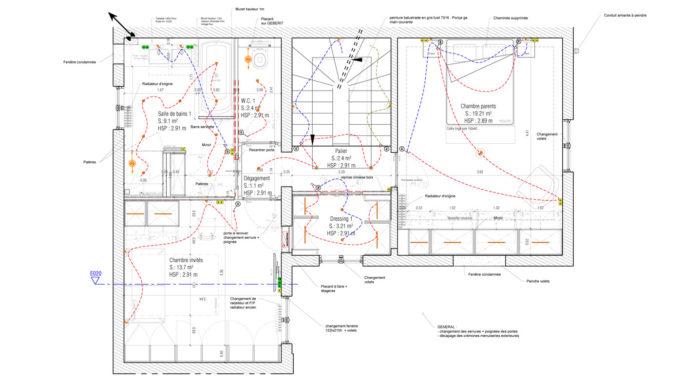 Stanislas Eurieult Architectures : Restructuration d'une maison de ville