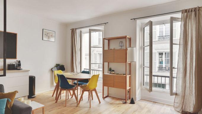 Stanislas Eurieult Architectures : Relooking d'une location temporaire