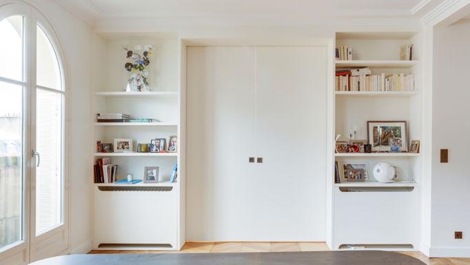 Stanislas Eurieult Architectures : Réhabilitation d'un appartement familial à deux pas de la tour Eiffel