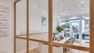 Stanislas Eurieult Architectures Refonte d'espace de travail et de réception clients pour une agence immobilière