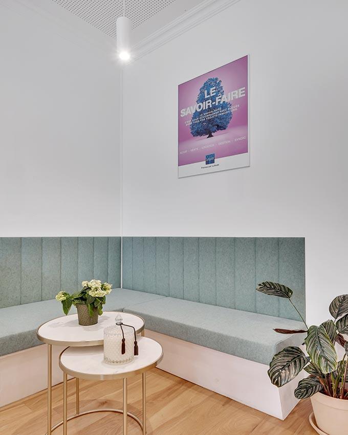 Stanislas Eurieult Architectures : Refonte d'espace de travail et de réception clients pour une agence immobilière